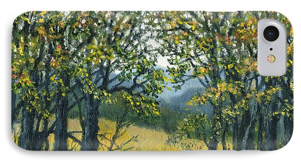 IPhone Case featuring the painting Mountain Woods by Kathleen McDermott