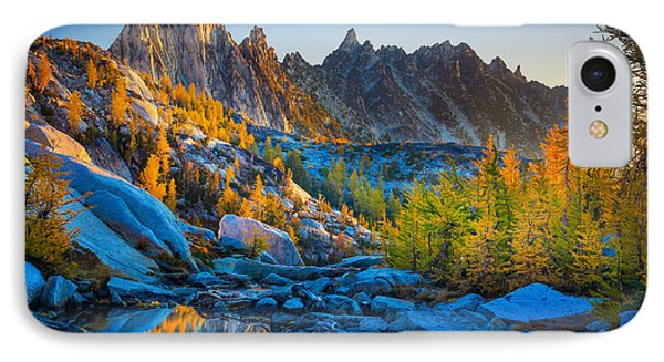 Mountainous Paradise IPhone Case by Inge Johnsson