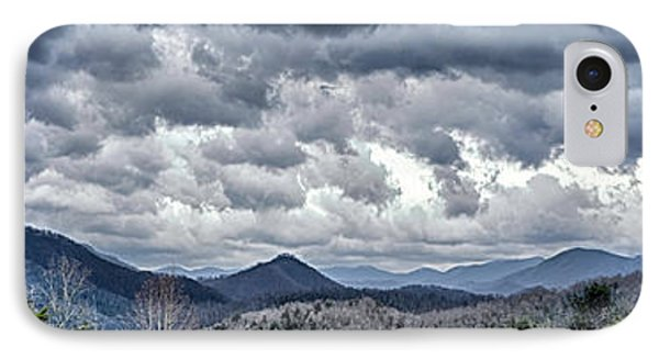 IPhone Case featuring the photograph Mountains 1 by Walt Foegelle