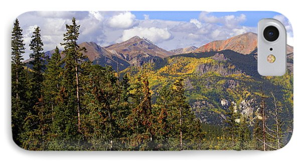 Mountains Aglow Phone Case by Marty Koch