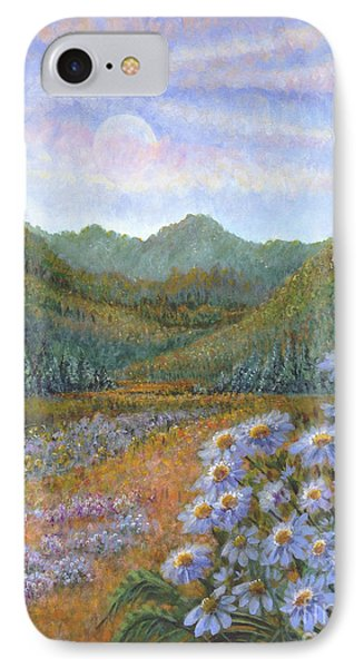 Mountains And Asters IPhone Case