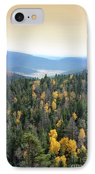 Mountains And Valley IPhone Case by Jill Battaglia