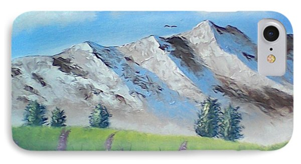 Mountains IPhone Case by Brenda Bonfield