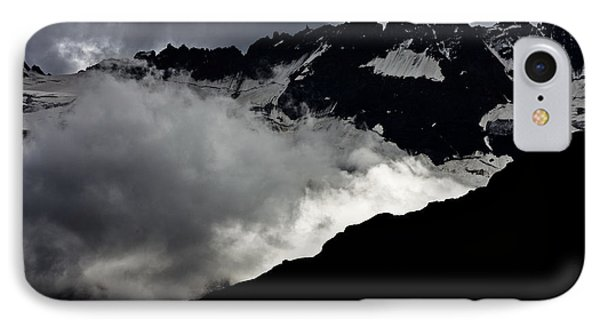 Mountains Clouds 9950 IPhone Case by Marco Missiaja