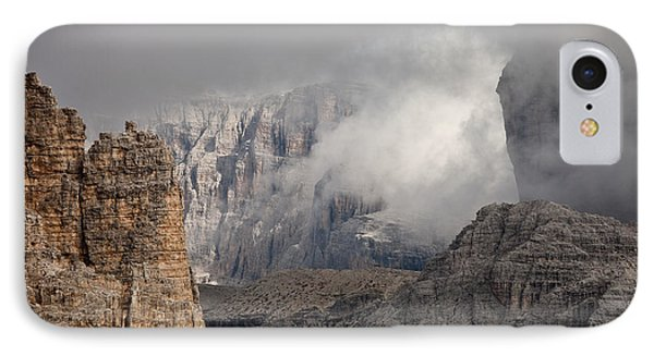 Mountains Depth 1150 IPhone Case by Marco Missiaja