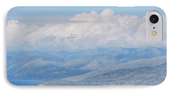 Mountains Far Away  3 IPhone Case by George Katechis
