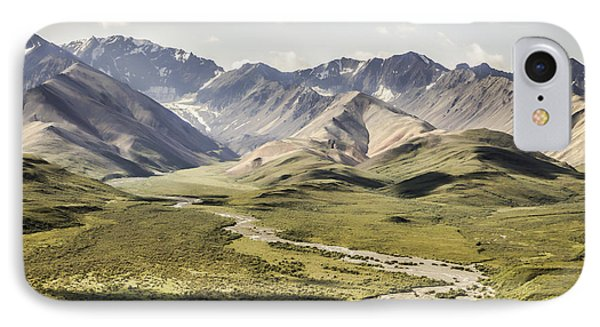 Mountains In Denali National Park IPhone Case