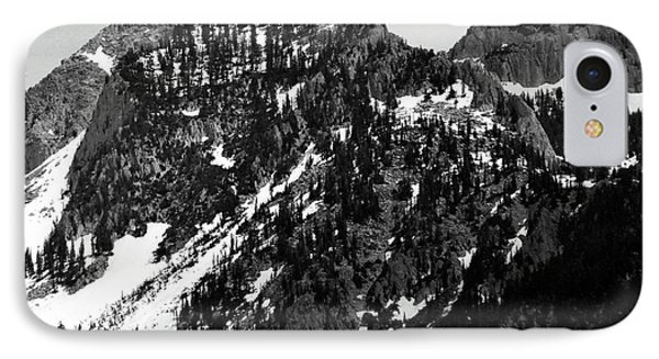 Mountains Phone Case by Juls Adams