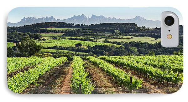 Mountains Of Montserrat Catalunya IPhone Case by Gina Dsgn