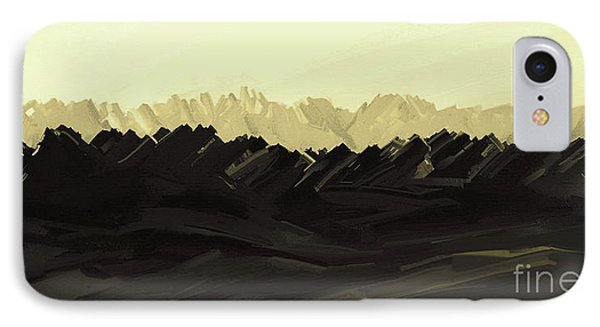 Mountains Of The Mohave IPhone Case