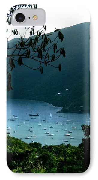 Mountainside Coral Bay IPhone Case by Robert Nickologianis