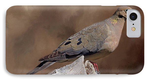 IPhone Case featuring the photograph Mourning Dove by Donna Kennedy