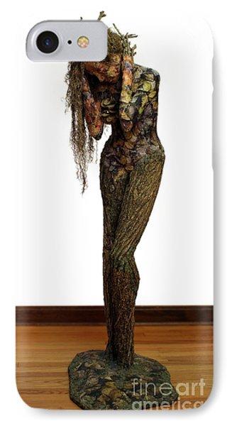 Mourning Moss A Sculpture By Adam Long IPhone Case