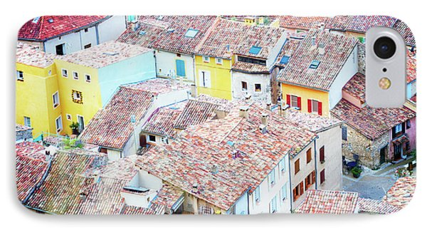 Moustiers Sainte Marie Roofs IPhone Case by Anastasy Yarmolovich