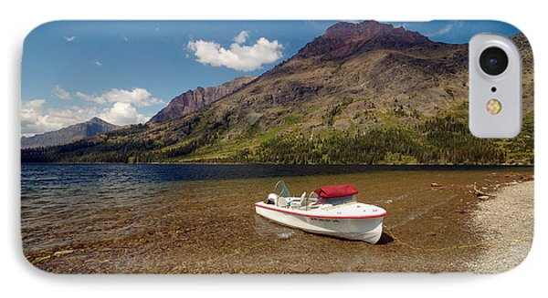 Moutain Lake IPhone Case by Sebastian Musial