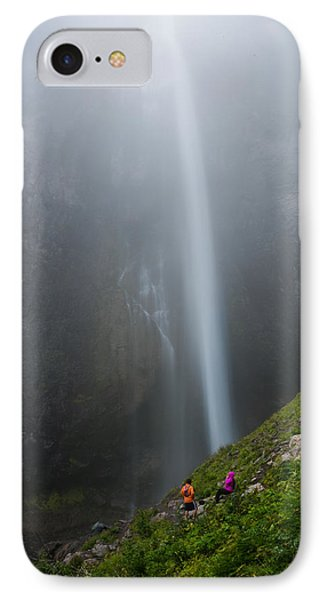 Moutain Waterfalls 5817 IPhone Case by Chris McKenna
