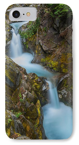 Moutain Waterfalls 5857 IPhone Case by Chris McKenna