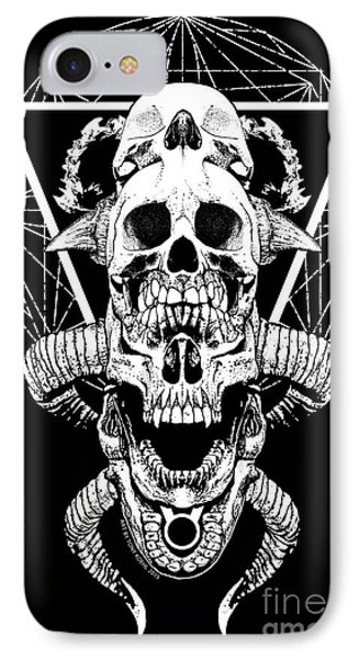 Mouth Of Doom IPhone Case by Tony Koehl