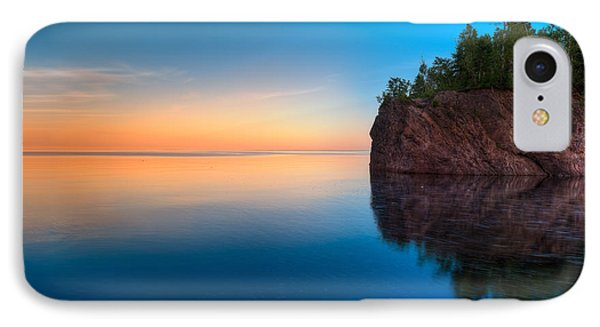 Mouth Of The Baptism River Minnesota IPhone Case by Steve Gadomski
