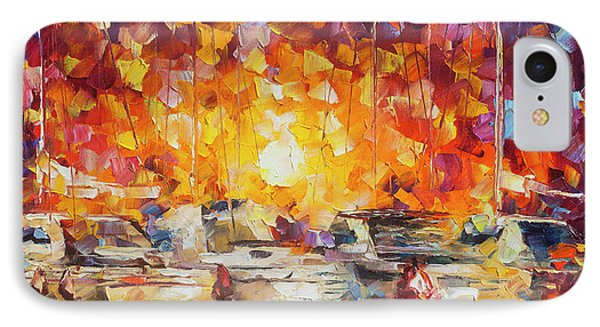 Movement Of The Sea Phone Case by Leonid Afremov