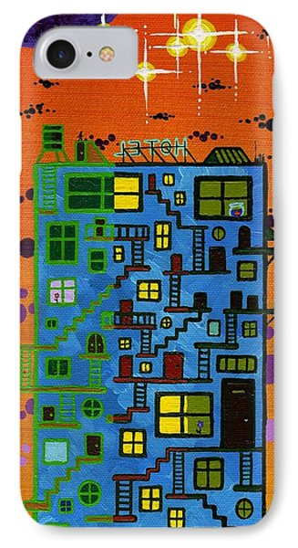 Move'n On Up Phone Case by Dan Keough