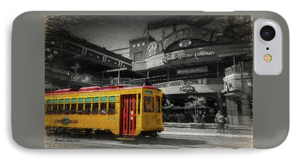 Movico 10 And Trolley IPhone Case by Marvin Spates