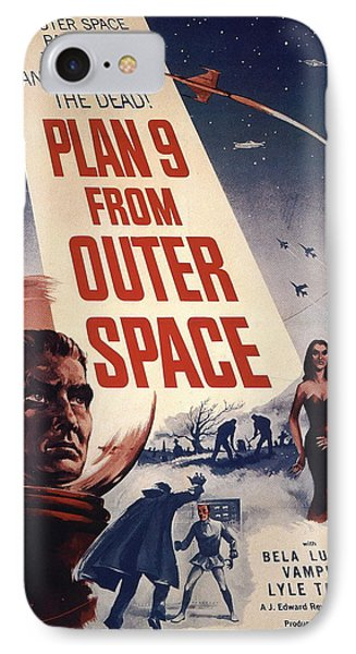 Movie Poster For Plan  IPhone Case by MotionAge Designs
