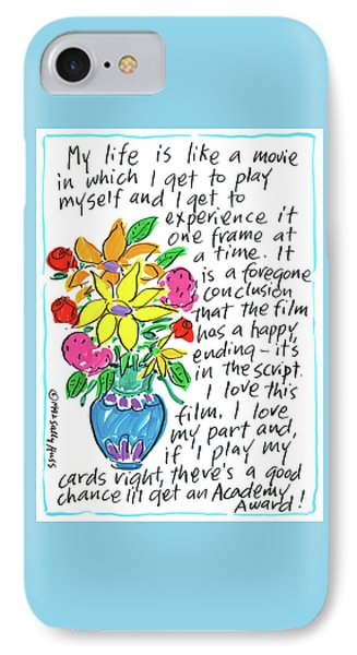Movie IPhone Case by Sally Huss