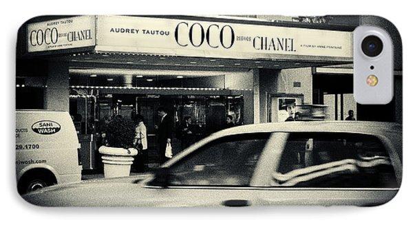 Movie Theatre Paris In New York City IPhone Case