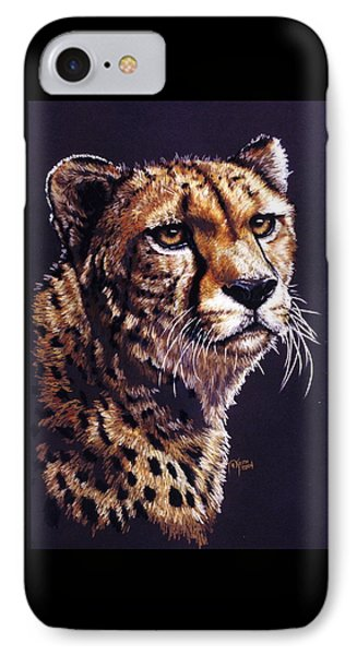 IPhone Case featuring the drawing Movin On by Barbara Keith