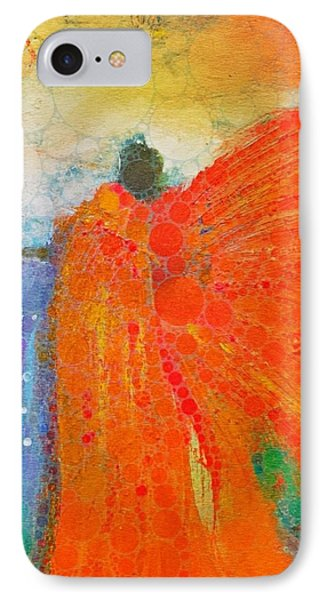 Mprints - Angel Of The Morning IPhone Case by M Stuart