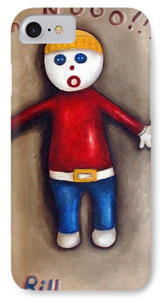 Mr. Bill Phone Case by Leah Saulnier The Painting Maniac