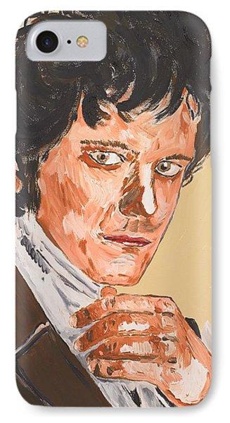 Mr. Darcy IPhone Case by Valerie Ornstein