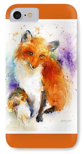 Mr. Fox Phone Case by Christy Lemp