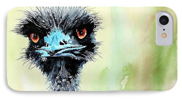 Mr. Grumpy IPhone Case by Tom Riggs