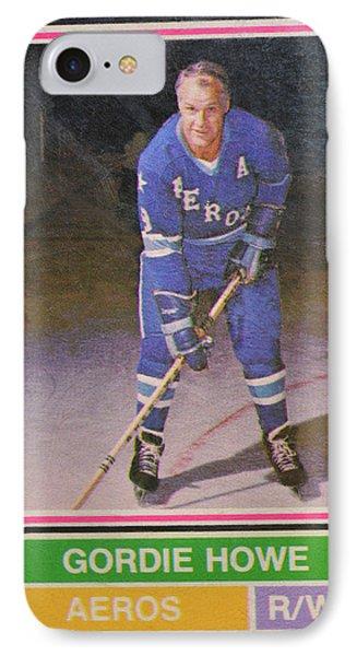 Mr Hockey IPhone Case by David Parsons
