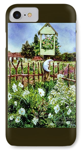 Mr Moon's Garden IPhone Case