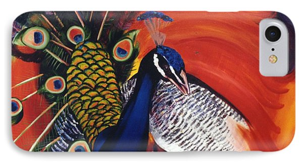 Mr Peacock IPhone Case