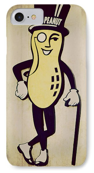 Mr Peanut IPhone Case by Robin Dickinson
