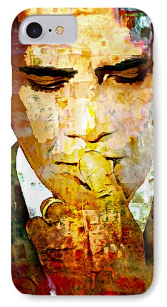 Mr. President IPhone Case by Lynda Payton