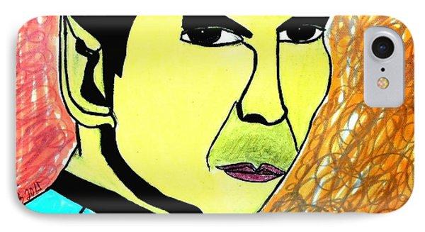 Mr. Spock IPhone Case by Paulo Guimaraes