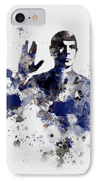 Mr Spock IPhone Case by Rebecca Jenkins