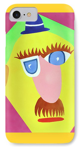 IPhone Case featuring the painting Mr. Strangefellow by Thomas Blood