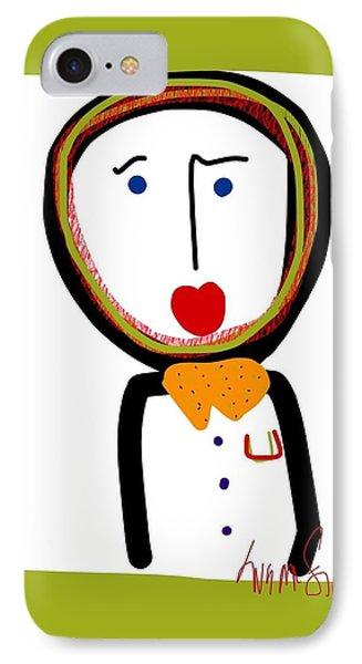 Mr. Tidy Boy IPhone Case