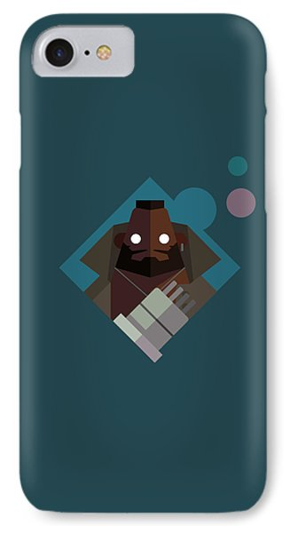 IPhone Case featuring the digital art Mr. Wallace by Michael Myers