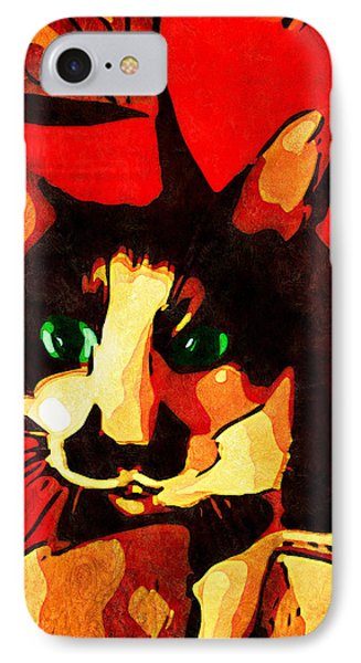 Mr. Wiggins IPhone Case by Iowan Stone-Flowers