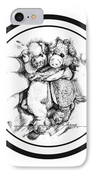 Mr.andmrspeggysweet IPhone Case by Roa Malubay