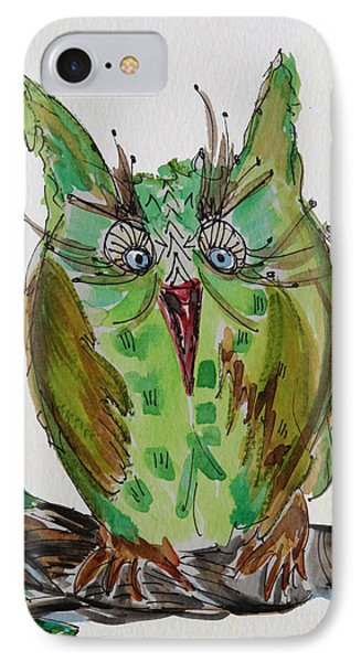 Mr.lime Owl IPhone Case