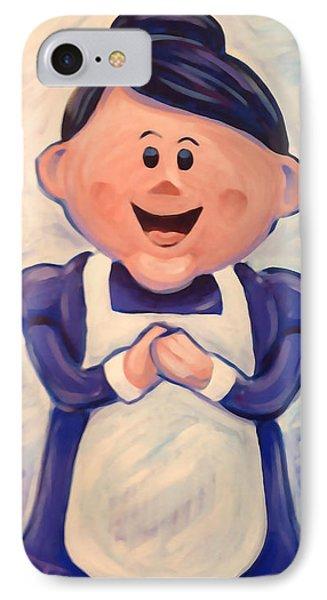 Mrs Claus IPhone Case