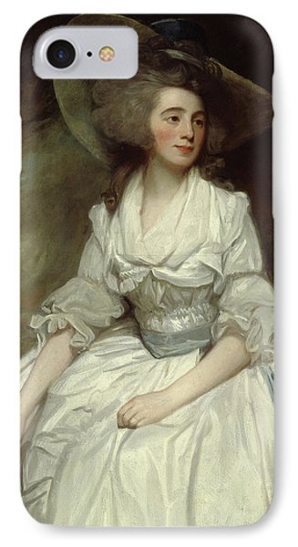 Mrs Francis Russell IPhone Case by George Romney